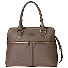 Buy Modalu Pippa Classic Medium Leather Grab Bag Online at johnlewis.com