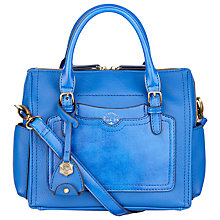 Buy Nica Malena Medium Grab Bag, Blue Online at johnlewis.com