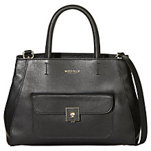 Buy Modalu Verity Small Leather Grab Bag Online at johnlewis.com