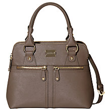 Buy Modalu Pippa Classic Small Leather Grab Bag Online at johnlewis.com