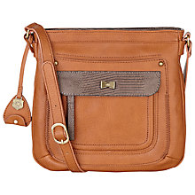 Buy Nica Elle Crossbody Bag, Tan Online at johnlewis.com