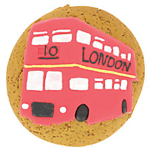 Buy Image on Food London Bus Biscuit, 50g Online at johnlewis.com
