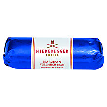 Buy Niederegger Marzipan Milk Chocolate Loaf, 125g Online at johnlewis.com