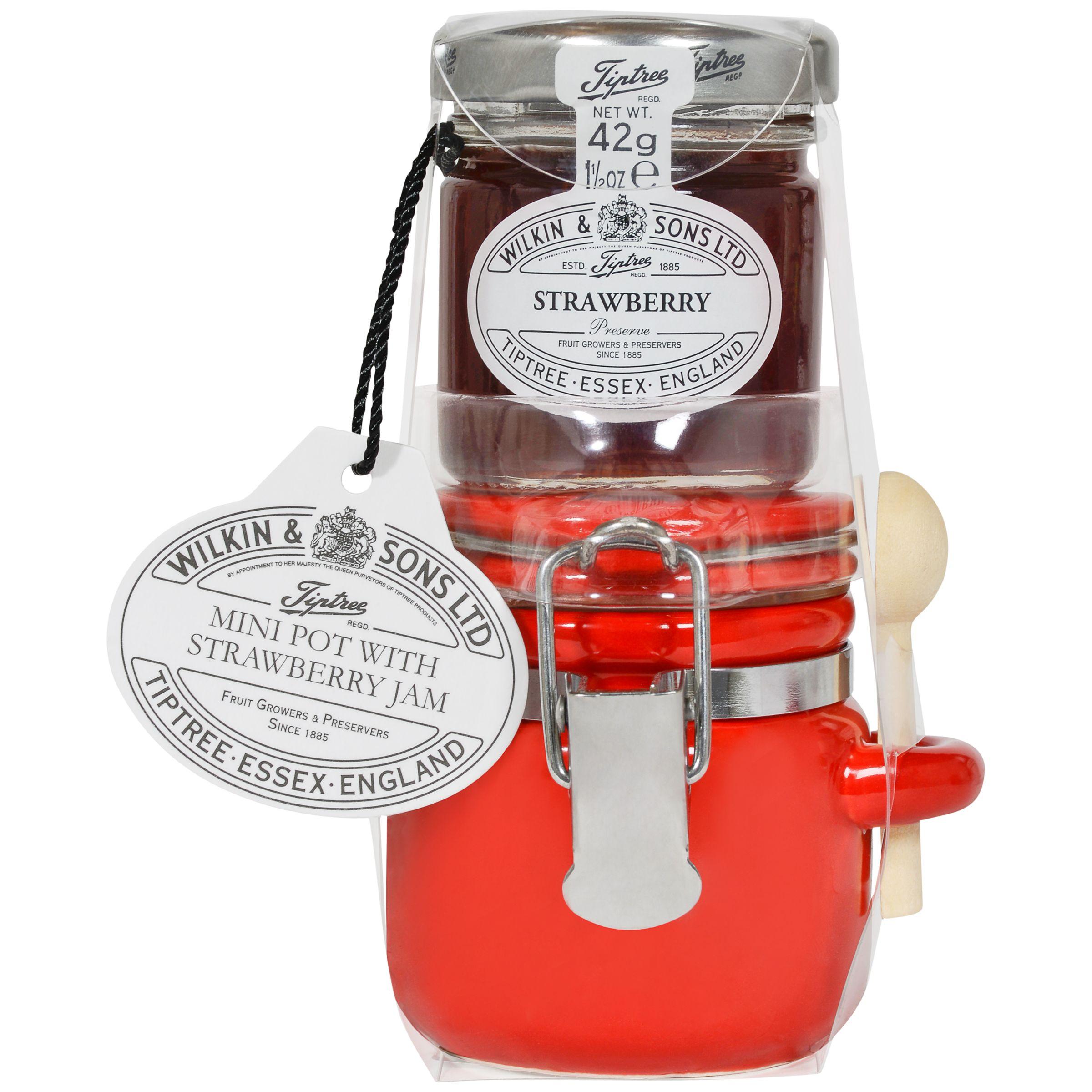 Wilkin & Sons Wilkin & Sons Tiptree Mini Pot with Strawberry Jam Set, 42g