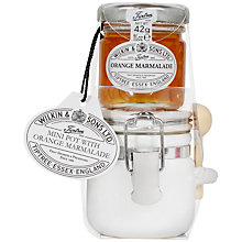Buy Wilkin & Sons Tiptree Mini Pot with Orange Marmalade Set, 42g Online at johnlewis.com