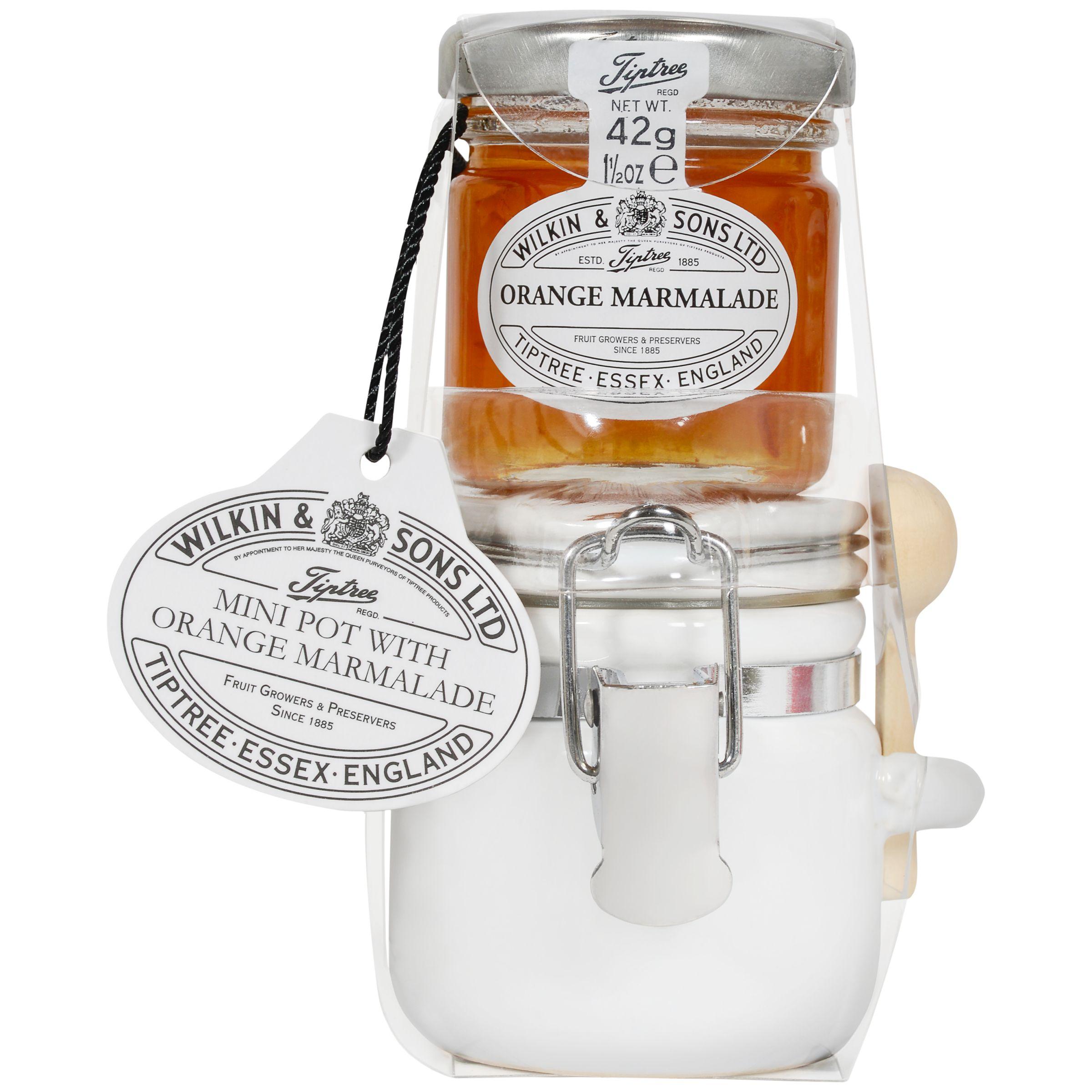 Wilkin & Sons Wilkin & Sons Tiptree Mini Pot with Orange Marmalade Set, 42g