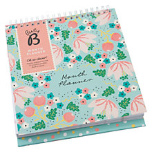 Buy Busy B Floral Monthly Planner Online at johnlewis.com