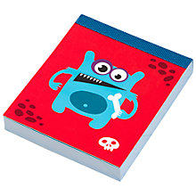 Buy Fourth Wall Brands Monsters Mini Notepad Online at johnlewis.com