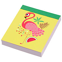 Buy Fourth Wall Brands Tropicalia Mini Notepad Online at johnlewis.com