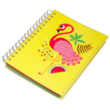 Buy Fourth Wall Brands Tropicalia A5 Notepad with Stickers Online at johnlewis.com