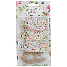 Buy Container Group Wild and Free Gift Tags, Pack of 15 Online at johnlewis.com