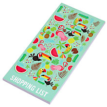 Buy Fourth Wall Brands Tropicalia Magnetic Notepad Online at johnlewis.com