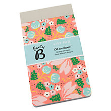 Buy Busy B List Pad Pink Floral Online at johnlewis.com