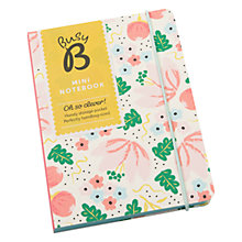 Buy Busy B Mini A6 Notebook, Cream Online at johnlewis.com