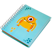 Buy Fourth Wall Brands Monsters A5 Notepad Stickers Online at johnlewis.com