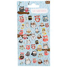 Buy Container Group Twit Twoo Stickers Online at johnlewis.com