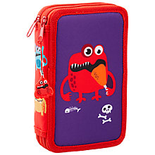 Buy Fourth Wall Brands Monsters Pencil Case, 2 Pocket Online at johnlewis.com