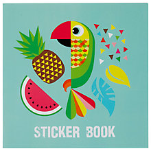 Buy Fourth Wall Brands Tropicalia Sticker Book Online at johnlewis.com