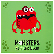 Buy Fourth Wall Brands Monsters Sticker Book Online at johnlewis.com