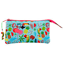 Buy Fourth Wall Brands Tropicalia 3-Pocket Pencil Case Online at johnlewis.com