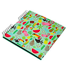 Buy Fourth Wall Brands Tropicalia Scrapbook Online at johnlewis.com