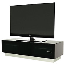 "Buy Alphason Element 1250 TV Stand for TVs up to 60"", Black Online at johnlewis.com"