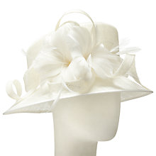 Buy John Lewis Cesca Small Down Curls Occasion Hat Online at johnlewis.com