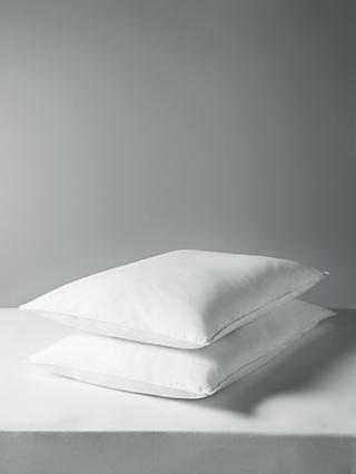 John Lewis & Partners Synthetic Standard Pillow, Pair, Medium