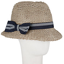 Buy John Lewis Knitted Italian Trilby Hat Online at johnlewis.com