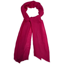 Buy Gerard Darel Alisson Cashmere Scarf, Fuchsia Online at johnlewis.com