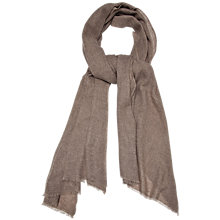 Buy Gerard Darel Cashmere Scarf, Beige Online at johnlewis.com