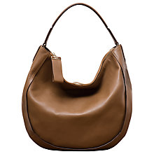 Buy Gerard Darel Ambra Leather Shoulder Bag, Camel Online at johnlewis.com