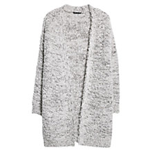 Buy Mango Metallic Cardigan, Natural White Online at johnlewis.com