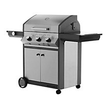 Buy Cadac Meridian 3-Burner Barbecue, Stainless Steel Online at johnlewis.com