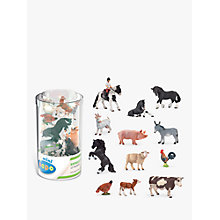 Buy Papo Figurines Mini Tub: Horses Online at johnlewis.com