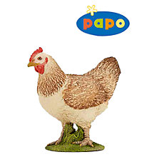 Buy Papo Figurines: Hen Online at johnlewis.com