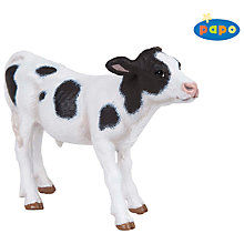 Buy Papo Figurines: Black & White Calf Online at johnlewis.com