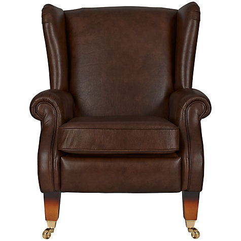 Buy Parker Knoll Marlow Push Back Recliner Semi Aniline Leather Armchair Jo