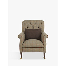 Buy Tetrad Harris Tweed Flynn Armchair, Bracken / Bromton Tan Online at johnlewis.com
