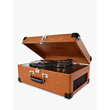Buy Crosley Keepsake USB Turntable, Tan Online at johnlewis.com