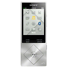 Buy Sony NWZ-A15B Walkman, 16GB, Bluetooth, NFC, High Resolution Audio Player Online at johnlewis.com