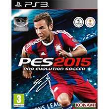 Buy Pro Evolution Soccer 2015, PS3 Online at johnlewis.com