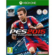 Buy Pro Evolution Soccer 2015, Xbox One Online at johnlewis.com