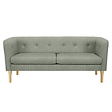 Buy House by John Lewis Elipse Medium Sofa, Porto Blue Grey Online at johnlewis.com