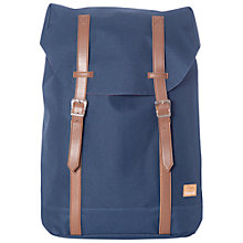 Buy Spiral Hampton Classic Backpack, Navy Online at johnlewis.com
