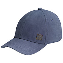 Buy Fred Perry Oxford Cap, One Size, Blue Online at johnlewis.com