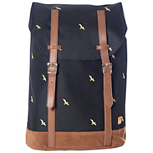 Buy Spiral Hampton Birds Backpack, Black Online at johnlewis.com