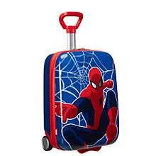 Buy Samsonite Marvel Wonder 2-Wheel 52cm Spiderman Power Suitcase, Blue/Red Online at johnlewis.com