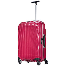 Buy Samsonite Cosmolite 2 4-Wheel 69cm Medium Suitcase, Pink Online at johnlewis.com