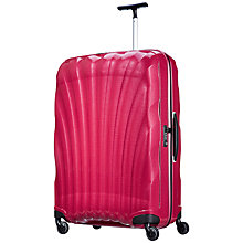 Buy Samsonite Cosmolite 2 4-Wheel 81cm Large Suitcase, Pink Online at johnlewis.com